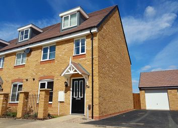 Thumbnail 3 bed town house to rent in Hebden Drive, Barkby Thorpe, Leicester