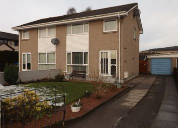 Thumbnail 3 bed semi-detached house for sale in Braeface, Alness