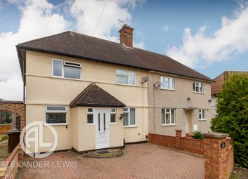 Thumbnail 4 bed semi-detached house for sale in Bursland, Letchworth