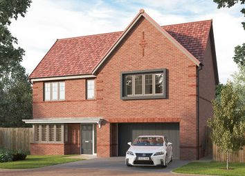 "Thumbnail 4 bed detached house for sale in ""The Welbury"" at Pennyfine Road, Sunniside, Newcastle Upon Tyne"