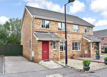 Thumbnail 3 bed semi-detached house for sale in Vale Park, Broadlands, Bridgend.