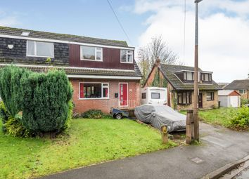 Thumbnail 3 bed semi-detached house for sale in Wayne Close, Batley