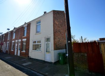 Thumbnail 2 bed end terrace house to rent in Saunders Street, Grimsby