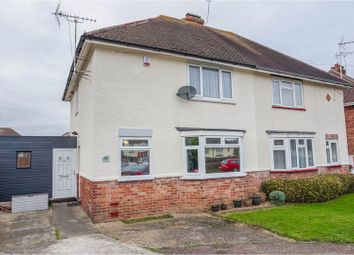 Thumbnail 2 bedroom semi-detached house for sale in Chestnut Crescent, Bletchley