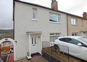 Thumbnail 3 bed end terrace house for sale in Devon Road, Greenock