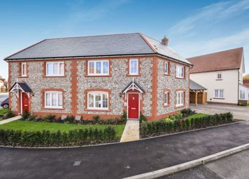 3 bed semi-detached house for sale in The Melbury At Hamlet Grove, Thame Road, Longwick, Princes Risborough HP27