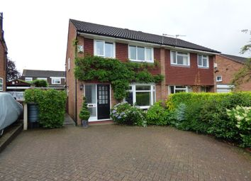 Thumbnail 3 bed semi-detached house for sale in Whinchat Close, Stockport