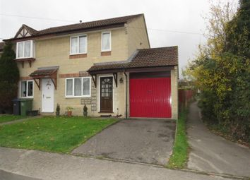 Thumbnail 3 bed semi-detached house for sale in Wood Lane, Chippenham