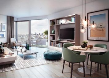 Thumbnail 1 bedroom flat for sale in Latitude House, Royal Wharf, London