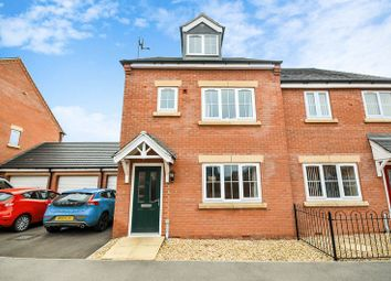 Thumbnail 3 bed semi-detached house for sale in 4 Elliott Close, Retford