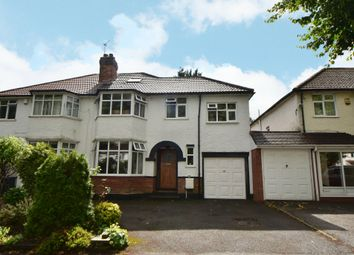 Thumbnail 4 bed semi-detached house for sale in Stanway Road, Shirley, Solihull