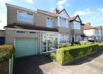 Thumbnail 4 bed semi-detached house for sale in Walliscote Road, Henleaze, Bristol
