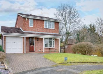 Thumbnail 3 bed detached house for sale in Peterbrook Close, Oakenshaw, Redditch
