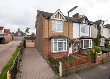 Thumbnail 3 bed semi-detached house for sale in Stockton Road, Reigate, Surrey