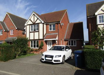 Thumbnail 4 bedroom detached house for sale in Teachers Close, Manea, March