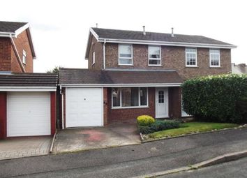 Thumbnail 3 bed semi-detached house for sale in Viscount Road, Burntwood