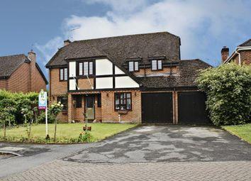 Thumbnail 5 bed detached house for sale in Cranesfield, Sherborne St. John, Basingstoke