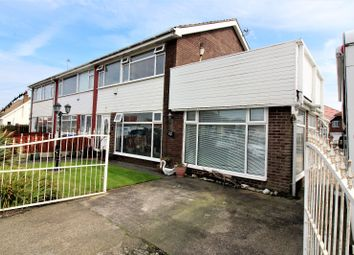 Thumbnail 3 bed semi-detached house for sale in South Avenue, Thornton-Cleveleys