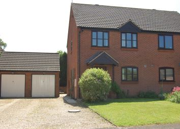 Thumbnail 3 bed semi-detached house to rent in Craven Close, Harlaxton, Grantham
