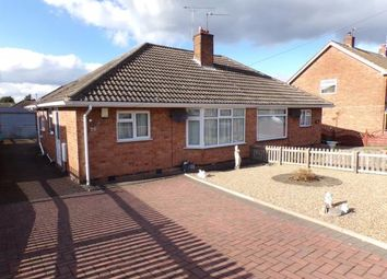 Thumbnail 2 bed bungalow for sale in Coplow Crescent, Syston, Leicester, Leicestershire