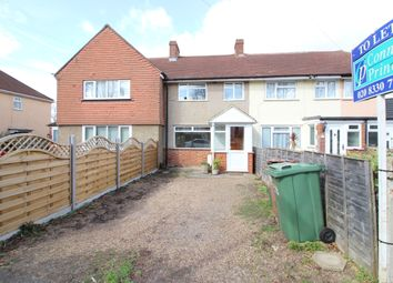 Thumbnail 2 bedroom terraced house to rent in St Philips Avenue, Worcester Park