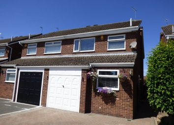 Thumbnail 3 bed semi-detached house for sale in Woodleigh Drive, Sutton-On-Hull, Hull