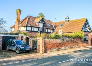 Thumbnail 4 bed detached house for sale in Spixworth Road, Norwich