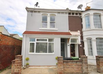 Thumbnail 3 bed end terrace house for sale in Lyndhurst Road, Portsmouth