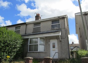 Thumbnail 3 bed semi-detached house to rent in Pencoed Avenue, Cefn Fforest, Blackwood