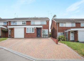Thumbnail 5 bedroom semi-detached house for sale in Knowle Drive, Harpenden