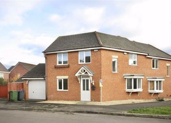 Thumbnail 3 bed semi-detached house for sale in Curlew Drive, Chippenham, Wiltshire