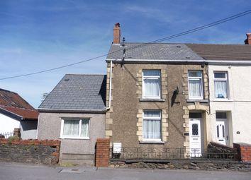 Thumbnail 3 bed end terrace house for sale in Main Road, Dyffryn Cellwen, Neath