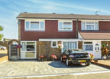 Thumbnail 4 bed end terrace house for sale in Lampits, Hoddesdon
