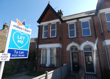 Thumbnail 3 bedroom flat to rent in Queens Road, Tankerton, Whitstable