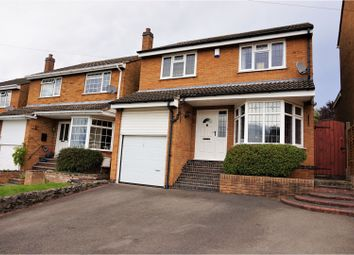 Thumbnail 4 bed detached house for sale in Hawthorne Drive, Coalville