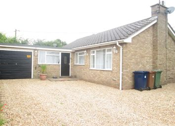 Thumbnail 2 bed bungalow to rent in Church End, Leverington, Wisbech