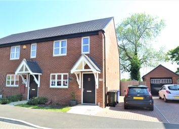 Thumbnail 2 bed semi-detached house for sale in Poppy Close, Ambrosden, Bicester