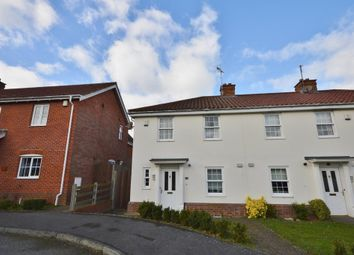 Thumbnail 3 bed semi-detached house to rent in Cullcott Close, Yoxford, Saxmundham