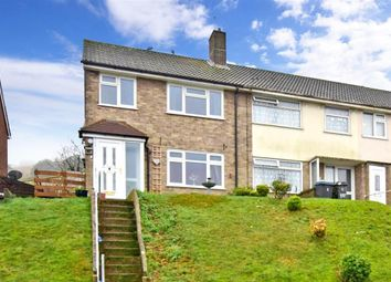 Thumbnail 3 bedroom end terrace house for sale in Longfield Road, Dover, Kent
