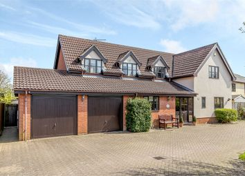 Thumbnail 4 bed detached house for sale in Norwich Road, Little Stonham, Stowmarket, Suffolk