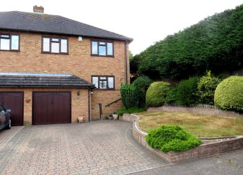 Thumbnail 4 bed semi-detached house for sale in Mount View, Billericay