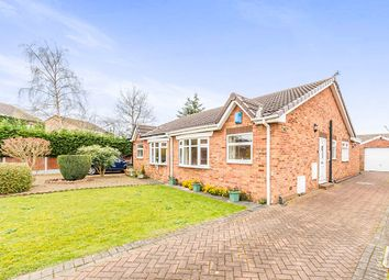 Thumbnail 2 bed bungalow for sale in Mill Field Court, Barnby Dun, Doncaster