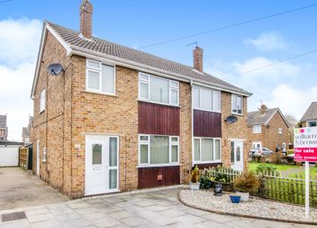 Thumbnail 3 bed semi-detached house for sale in Grange Close, Hatfield, Doncaster