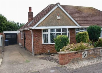Thumbnail 2 bedroom semi-detached bungalow for sale in Burford Avenue, Boothville, Northampton