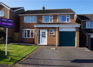 Thumbnail 4 bed detached house for sale in Hall Orchard Lane, Frisby On The Wreake