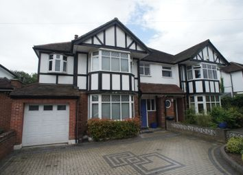Thumbnail 6 bed semi-detached house for sale in Longland Drive, Totteridge