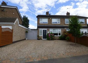 Thumbnail 3 bed semi-detached house for sale in Countrymans Way, East Goscote, Leicester, Leicestershire