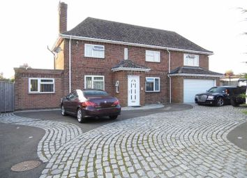 Thumbnail 5 bedroom detached house for sale in Wootton Road, South Wootton, King's Lynn