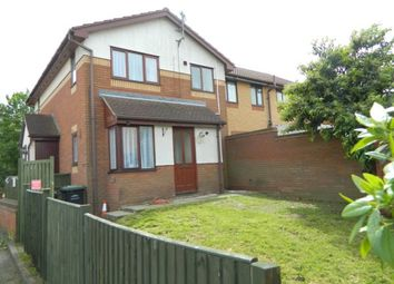 Thumbnail 1 bed end terrace house to rent in Dynevor Close, Bromham, Beds