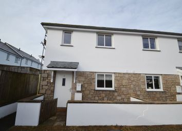 Thumbnail 2 bed end terrace house for sale in Longstone Hill, Carbis Bay, St. Ives